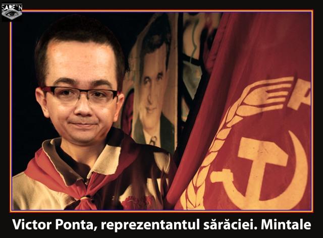 Victor Ponta, un pionier al PSD cu apucături de șoim al patriei.
