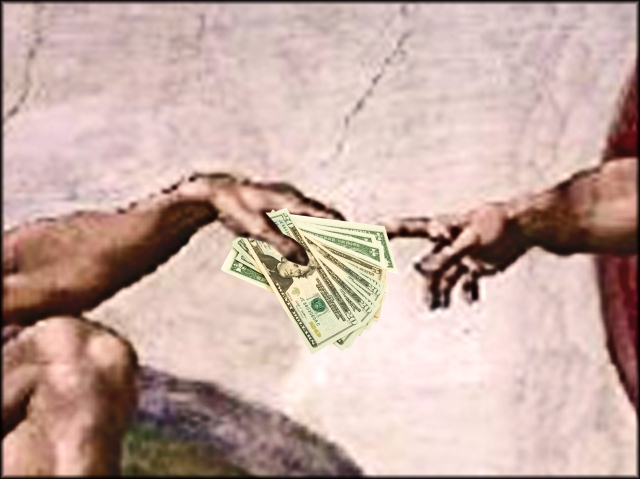 bani pentru biserica