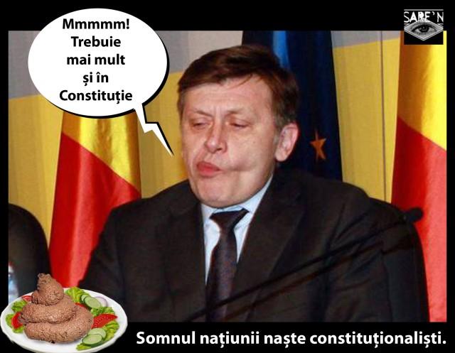 Antonescu degusta rahat