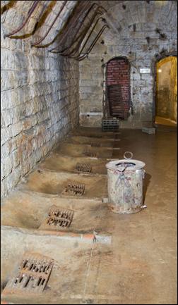 Toaleta de la Fortul Douaumont -  Verdun