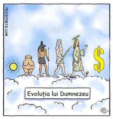 evolutia lui Dumnezeu