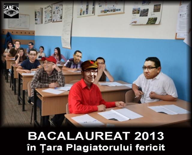 Bacalaureat cu Ponta