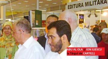 Abu Al Ola și Ion Iliescu la Târgul de Carte