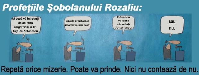 """Din ciclul """"Nea' Vasile nici nu știi cât de rozaliu devii"""", Băsedații ne confirmă: """"Băsescu e-n toate cele ce sunt"""""""
