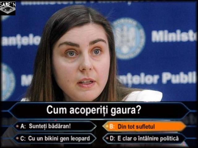 Ioana Petrescu-cum acoperiti gaura