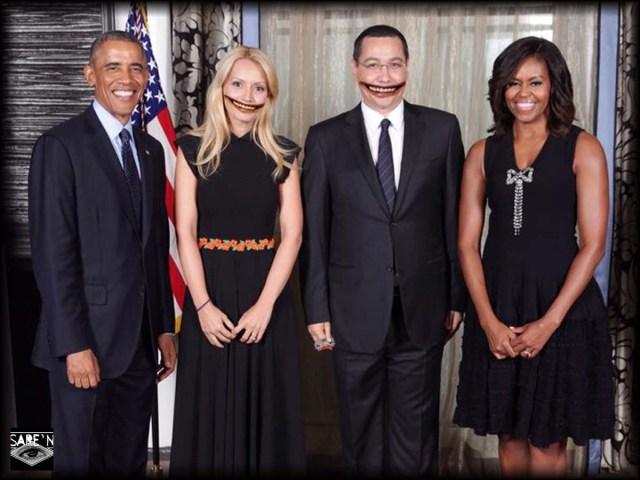 Ponta la pozat cu Obama