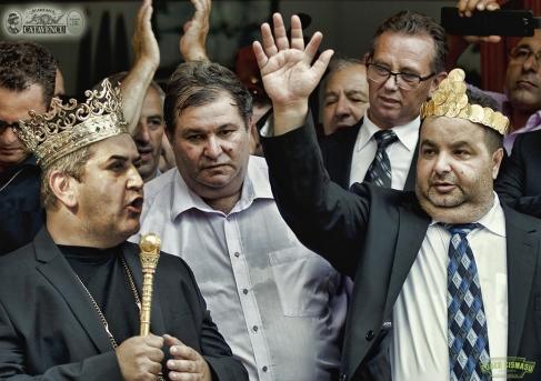 Gabi Oprea, urmărind votul în plus pentru Ponta și bastonul goldeanu de mareșal pentru el însuși
