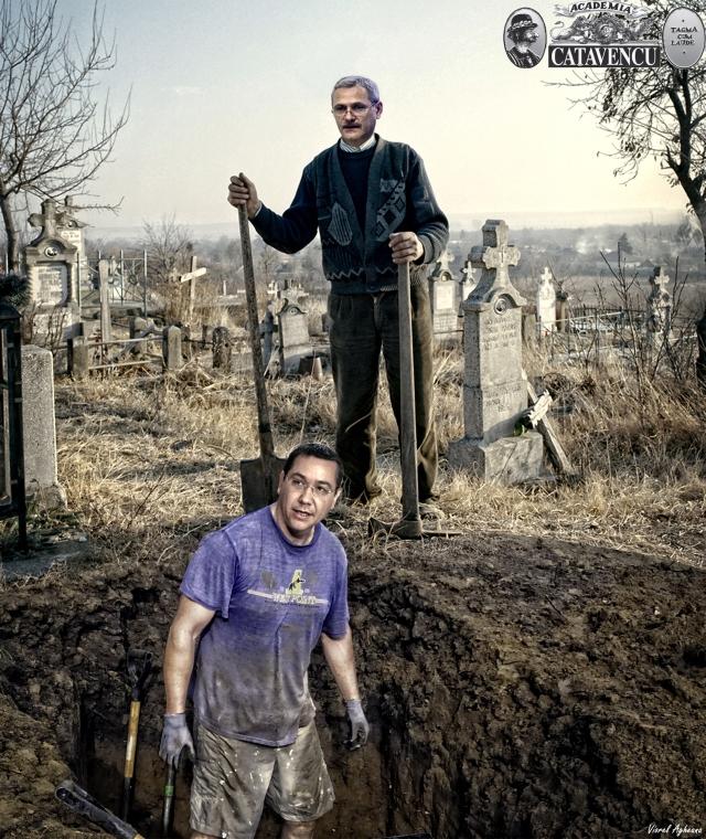 Ali Dragnea și Micuțul Tupilescu în căutare de talente la vot